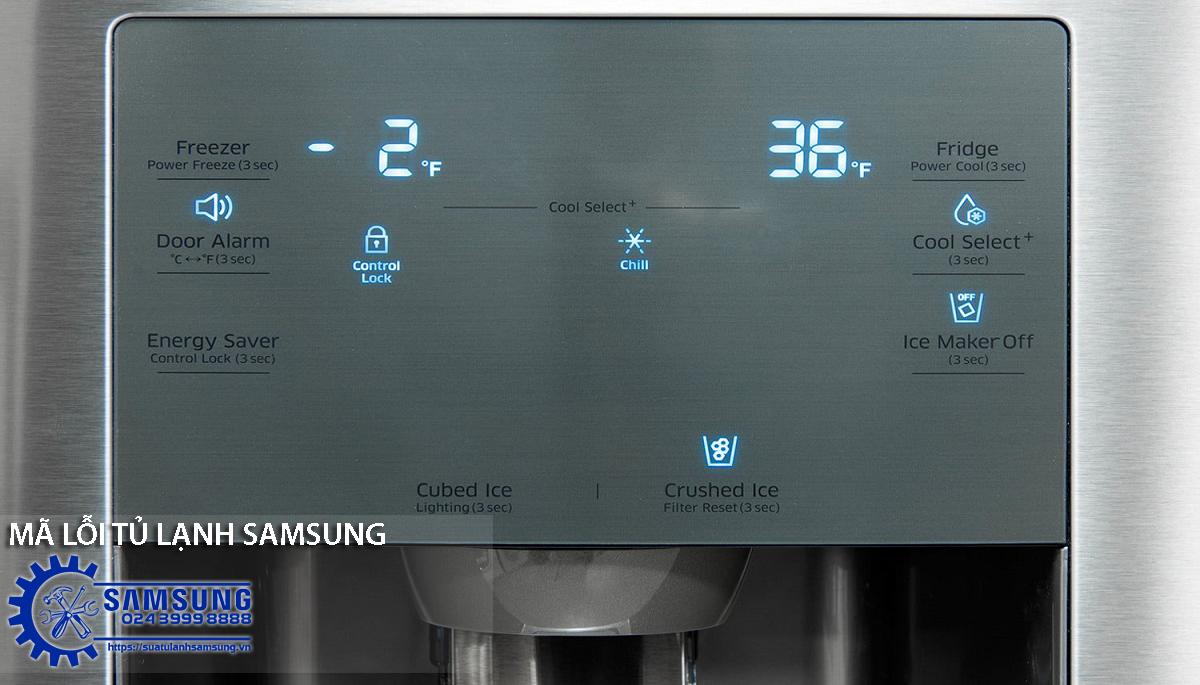 Tổng hợp bảng mã lỗi tủ lạnh Samsung cơ  bản nhất