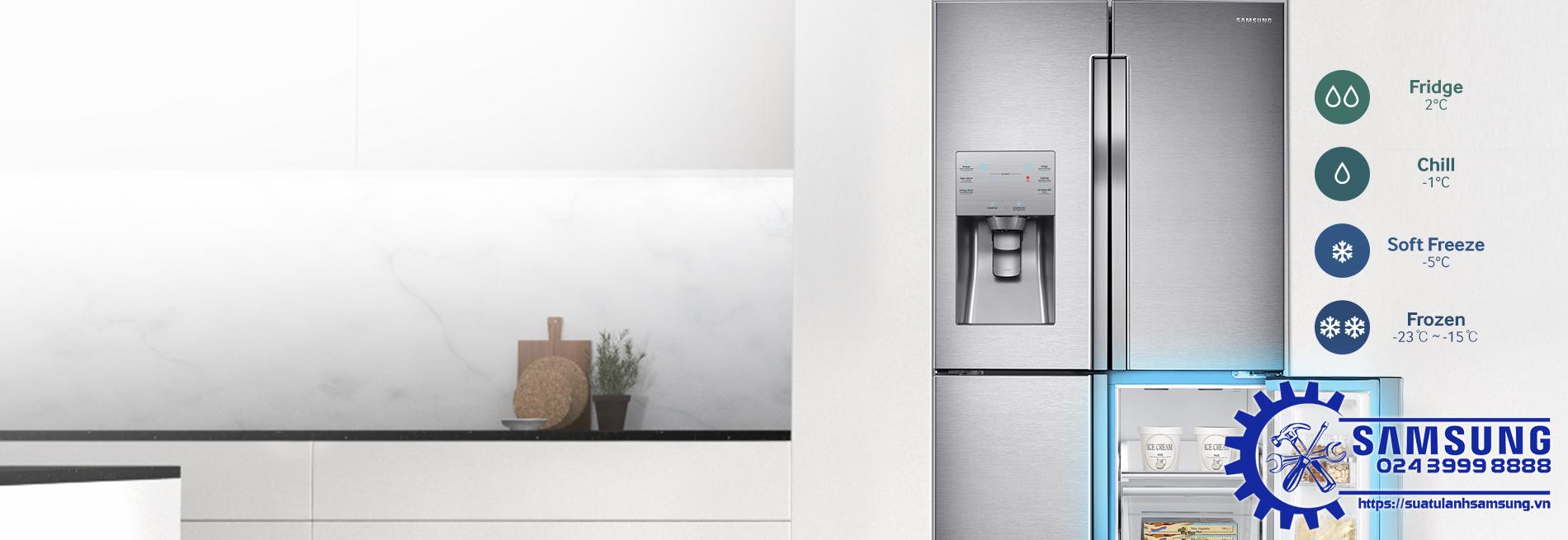 Sửa Tủ Lạnh Samsung Đá Rơi