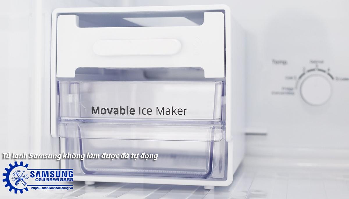 Xử lý thế nào khi tủ lạnh Samsung không làm được đá tự động?